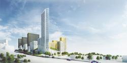 Конкурсный проект жилого квартала в Уфе