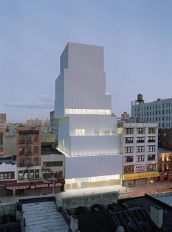 Новое здание Нового музея Нью-Йорка. Архитекторы: Kazuyo Sejima, RyueNishizawa/SANAA, Токио