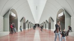 Станция метро «Ржевская»