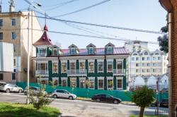 Уникальный памятник деревянного зодчества восстановили в Хабаровске