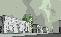 Residential complex, prospekt Mira