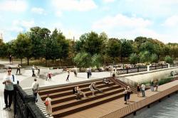 Всё как в Европе: Проекты благоустройства Тверской Заставы, Зарядья и Крымской площади