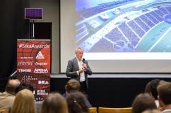 Видеолекции Дэймона Лавеля «Стадионы будущего: новый взгляд на форму и содержание»