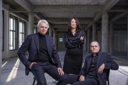 KAAN Architecten. Слева направо: Кес Кан, Дикки Шипио, Винсент Панхёйзен