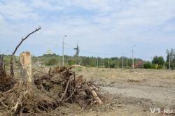 Мемориальный парк Мамаева кургана вырубили под медиацентр ЧМ-2018 и гигантскую парковку
