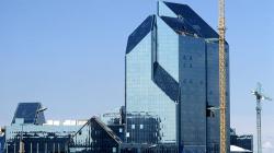 Небоскреб «Синий зуб» на юго-западе Москвы достроят за счет бюджета