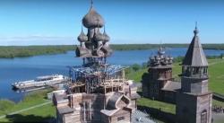 Директор музея «Кижи» рассказала о реставрации Преображенской церкви