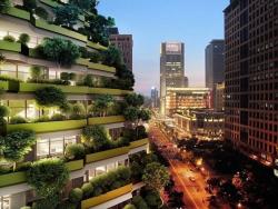 Новая мода в архитектуре – деревья на крышах и небоскребах