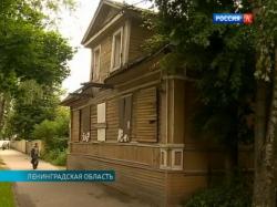 В Новой Ладоге на грани исчезновения архитектурный ансамбль деревянного зодчества