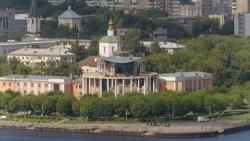 На временную крышу и баннер для Речного вокзала Твери выделили более 5 млн рублей