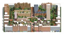 Проект многофункционального жилого квартала Homelands