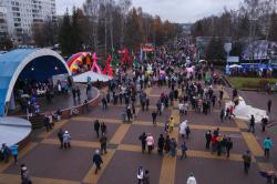 Бульвар Строителей в Кемерове превратили в общественное пространство