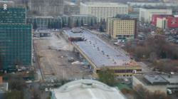 В Москве начался снос бывшего аэровокзала на Ленинградском проспекте