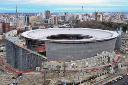 Реконструкция стадиона «Екатеринбург-Арена»