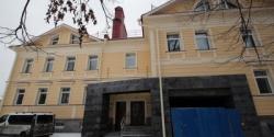 В Пушкине в бетоне воссоздали деревянный дом Монигетти на Церковной