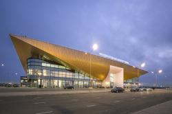 Новый пассажирский терминал аэропорта в Перми