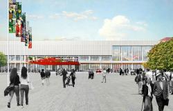 Проект реконструкции здания Третьяковской галереи на Крымском валу