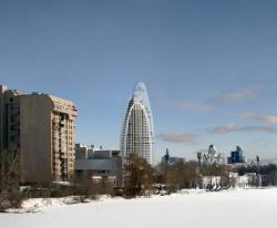 В новой башне RMJM для России устроят «висячий» сад