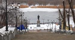 Вандалы разгромили Казанскую лестницу в Ростове-на-Дону
