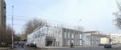 Administrative building in Pimenovsky lane