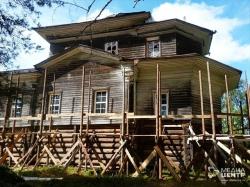 Деревянную церковь 18века реставрируют вТарногском районе Вологодской области