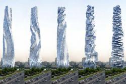 Архитектор Дэвид Фишер проектирует вращающиеся небоскребы в Дубае и в Москве