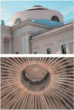 Восстановлен один из куполов работы Доменико Желярди