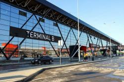 Министр транспорта РФ Максим Соколов проинспектировал работу нового терминала В аэропорта Шереметьево, построенного к Чемпионату мира по футболу 2018
