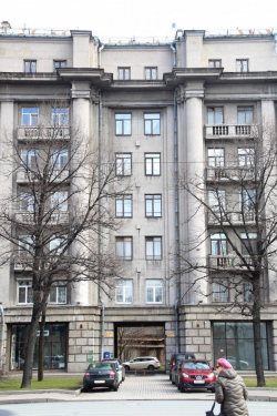 Ленинград. Жилой дом Наркомпищепрома