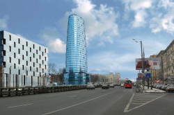 Office and retail centre on Leningradskoe highway