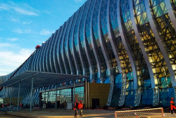 Терминал аэропорта «Крымская волна»