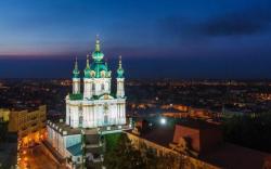 В сети впервые показали обновленную Андреевскую церковь