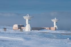 Геодезическая обсерватория в Новом Олесунне (Ню-Олесунн)