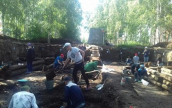 В Березово археологи раскопали усадьбу XVIII века