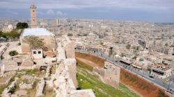 Сирийские власти восстанавливают разрушенный боевиками мост в Алеппо