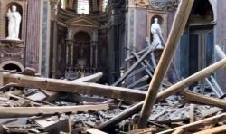 Кровля одной из церквей Капитолийского холма обрушилась в Риме