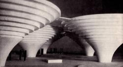 Летающие сферы и города-воронки:как архитекторы прошлого представляли наше время