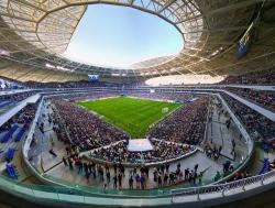 Вокруг футбола. О новых стадионах России
