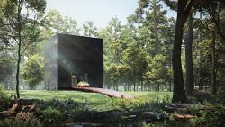 «Черная вилла» – дом для коллекционера искусства
