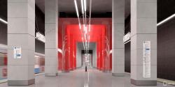 Cтанцию метро «Нижние Мнёвники» оформят в стиле авангард