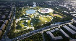 Спортивный кампус в Цюйчжоу