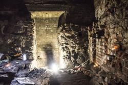 Археологи нашли на Замковом острове в Выборге четыре подземных помещения