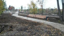 «Вместо пустыря — уникальная зона отдыха»: в Орехово-Зуеве продолжается реконструкция городского парка