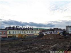 Без археологов: на Василька начали строить литовское генконсульство