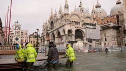 Наводнение в Венеции повредило мозаичный пол в соборе Святого Марка