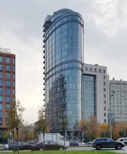 Административное здание на улице Коровий Вал