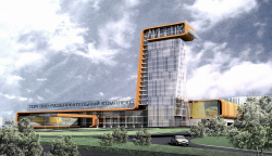 Многофункциональный торгово-офисный комплекс в Липецке