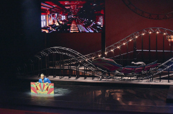 Сценография «Волшебной флейты» в театре «Геликон-опера»