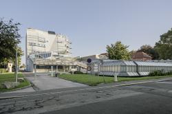 Корпус лабораторий и мастерских Центра ПТУ Грац-Санкт-Петер