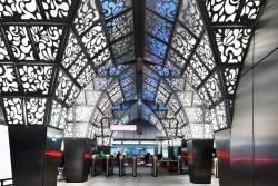 Дизайн станции метро «Новопеределкино»